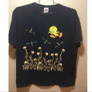 Vintage Looney Tune T-shirts size L 1997